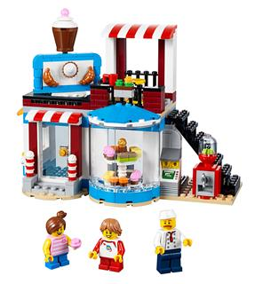 LEGO 31077 - LEGO Creator - Moduláris édes meglepetések
