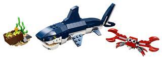 LEGO 31088 - LEGO Creator - Mélytengeri lények