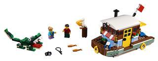 LEGO 31093 - LEGO Creator - Folyóparti lakóhajó