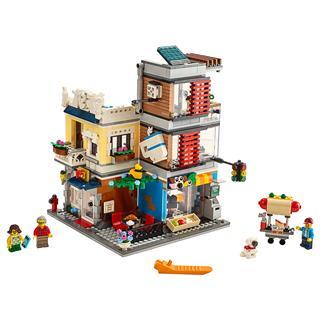 LEGO 31097 - LEGO Creator - Városi kisállat kereskedés és kávézó