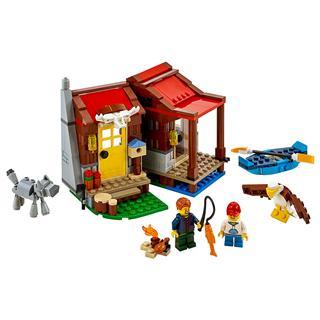 LEGO 31098 - LEGO Creator - Kunyhó a vadonban
