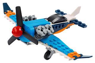 LEGO 31099 - LEGO Creator - Légcsavaros repülőgép