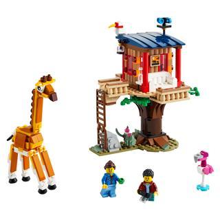 LEGO 31116 - LEGO Creator - Szafari lombház a vadonban