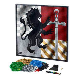 LEGO 31201 - LEGO Art - Harry Potter™ Hogwarts™ Crests