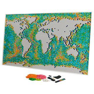 LEGO 31203 - LEGO Art - Világtérkép