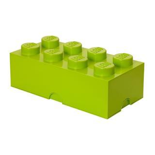 LEGO 40041220 - LEGO tároló - Nagy, 4x2, világoszöld