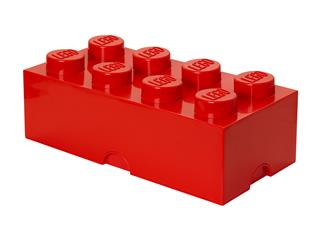 LEGO 40041730 - LEGO tároló - Nagy, 4x2, piros