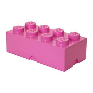LEGO 40041739 - LEGO tároló - Nagy, 4x2, pink