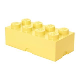 LEGO 40041741 - LEGO tároló - Nagy 4x2  cool sárga