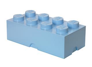 LEGO 40041742 - LEGO tároló - Nagy, 4x2, aqua világoskék