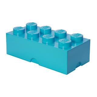 LEGO 40041743 - LEGO tároló - Nagy 4x2 azúrkék