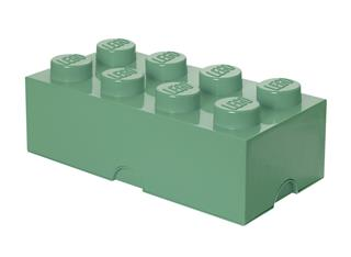 LEGO 40041747 - LEGO Tároló - Nagy, 4x2, homokzöld