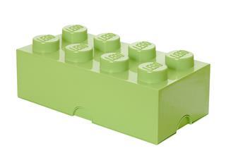 LEGO 40041748 - LEGO Tároló - Nagy, 4x2, sárgás zöld