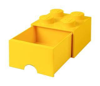 LEGO 40051732 - LEGO fiókos tároló - Nagy, 2x2, sárga