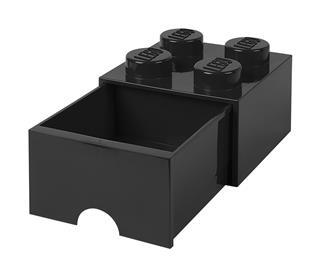 LEGO 40051733 - LEGO fiókos tároló - Nagy, 2x2, fekete