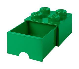 LEGO 40051734 - LEGO fiókos tároló - Nagy, 2x2, zöld