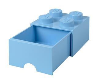 LEGO 40051736 - LEGO fiókos tároló - Nagy, 2x2, világos kék