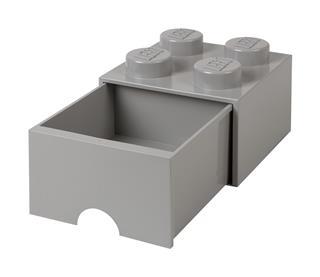 LEGO 40051740 - LEGO fiókos tároló - Nagy, 2x2, szürke