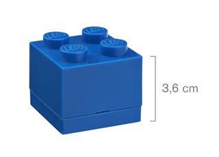 LEGO 40111731 - LEGO Mini tároló - Mini, 2x2, kék