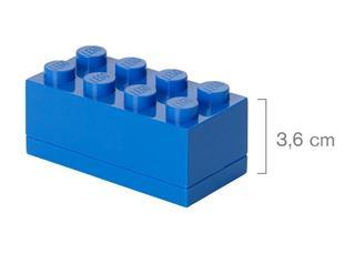 LEGO 40121731 - LEGO Mini tároló - Mini, 4x2, kék