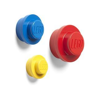 LEGO 40161732 - LEGO - Fali fogas szett - sárga, kék, piros
