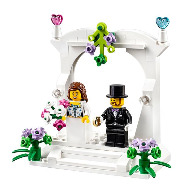 LEGO 40165 - LEGO Exclusive - Esküvői szett