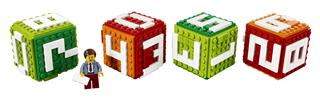 LEGO 40172 - LEGO kiegészítők - Kocka naptár