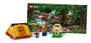 LEGO 40177 - LEGO City - Dzsungel kiegészítő szett