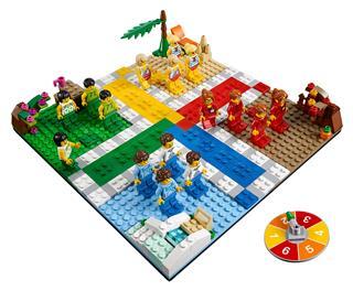 LEGO 40198 - LEGO társasjáték - Ludo - Ki nevet a végén?