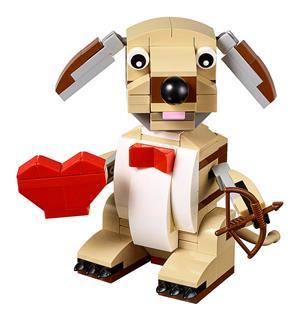 LEGO 40201 - LEGO Exclusive - Valentin napi Cupido kutya