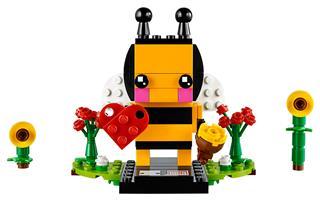 LEGO 40270 - LEGO Brickheadz - Valentin napi méhecske