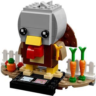 LEGO 40273 - LEGO Brickheadz - Hálaadás pulyka