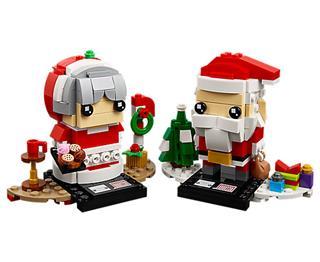 LEGO 40274 - LEGO Brickheadz - Télapó és télanyó