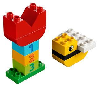 LEGO 40304 - LEGO DUPLO - Tulipán és méhecske
