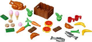 LEGO 40309 - LEGO Xtra - Élelmiszer kiegészítő szett