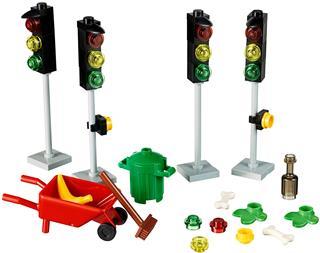 LEGO 40311 - LEGO Xtra - Utcai kiegészítő szett