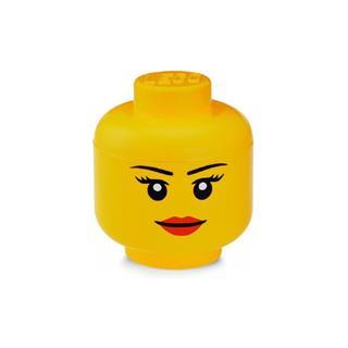 LEGO 40311725 - LEGO tároló - Kicsi lány minifigura fej