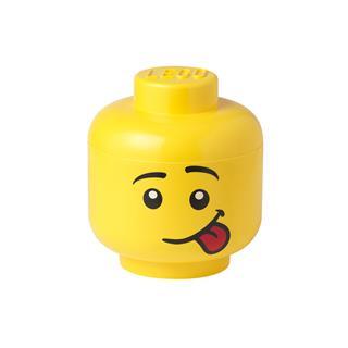 LEGO 40311726 - LEGO tároló - Kicsi mosolygós minifigura fej