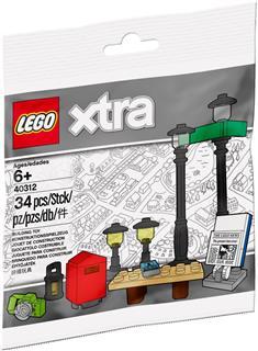 LEGO 40312 - LEGO Xtra - Park kiegészítő szett