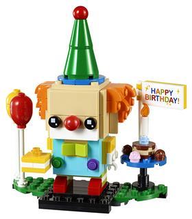 LEGO 40348 - LEGO Brickheadz - Szülinapi bohóc