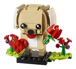 LEGO 40349 - LEGO Brickheadz - Valentin kutyus