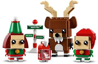LEGO 40353 - LEGO Brickheadz - A rénszarvas és barátai