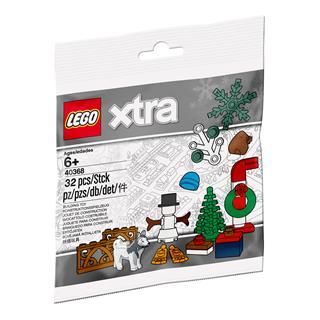 LEGO 40368 - LEGO Xtra - Karácsonyi kiegészítő csomag
