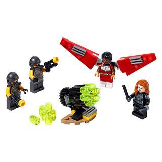 LEGO 40418 - LEGO Super Heroes - Sólyom és Fekete Özvegy összefog