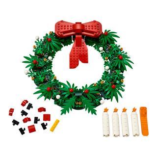 LEGO 40426 - LEGO Exclusive - 2 az 1-ben karácsonyi koszorú