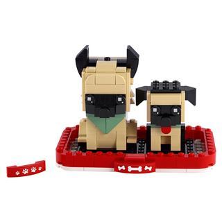 LEGO 40440 - LEGO Brickheadz - Német juhász