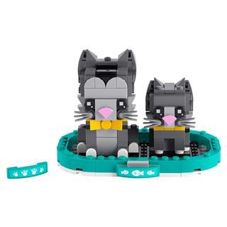 LEGO 40441 - LEGO Brickheadz - Rövidszőrű macskák