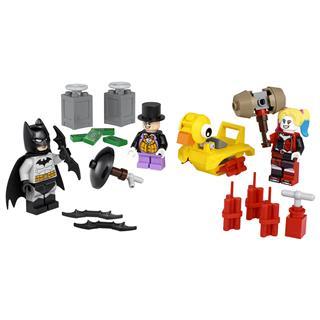 LEGO 40453 - LEGO Super Heroes - Batman vs. Pingvin és Harley Quinn