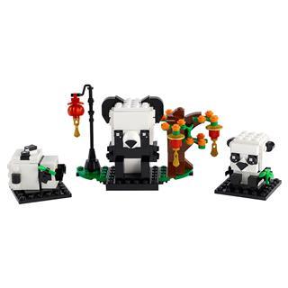 LEGO 40466 - LEGO Brickheadz - Kínai újévi pandák