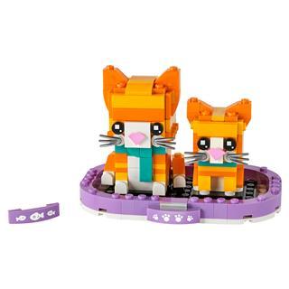 LEGO 40480 - LEGO Brickheadz - Vörös macska